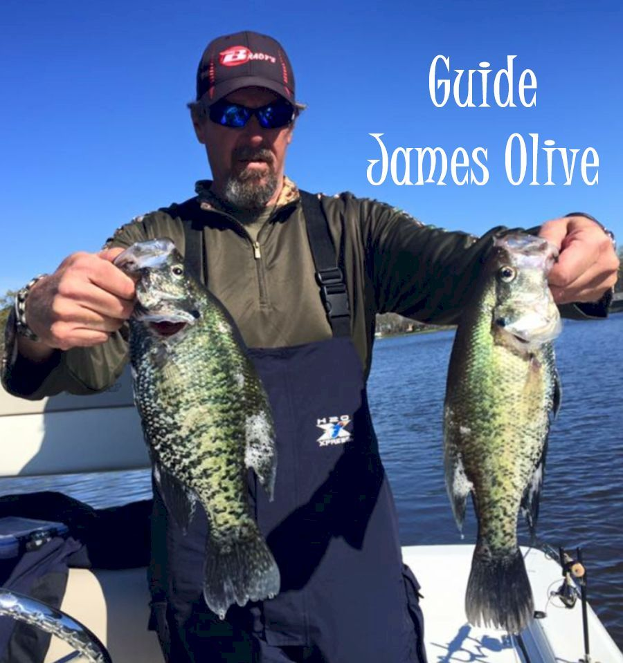 Lake Fork Guide James Olive Crappie And Catfishing