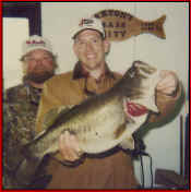Keith Ledbetter with a 10.13 lb. Lake Fork trophy bass
