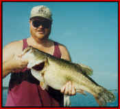 Ed Frieze with a 12.17 Lake Fork trophy bass